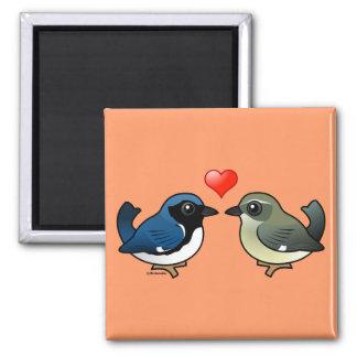 Black-throated Blue Love Magnet