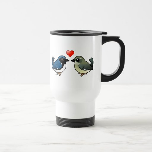 Black-throated Blue Love Mugs