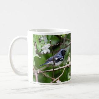 Black-throated Blue Warbler Classic White Coffee Mug