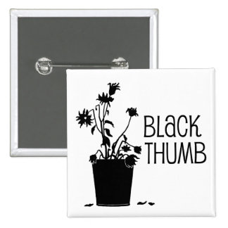 Black Thumb Button