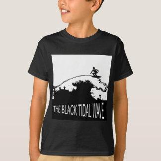 BLACK TIDAL WAVE T-Shirt