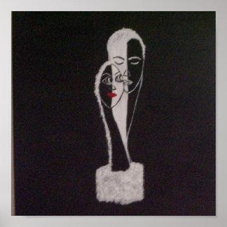 Black Tie 15x15 Canvas Print