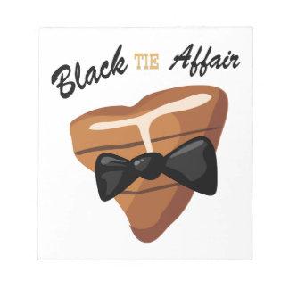 Black Tie Affair Memo Notepad