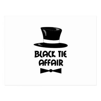 BLACK TIE AFFAIR POSTCARDS