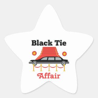 Black Tie Affair Star Sticker
