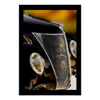 Black Tie and Tails - Fine Art Classic Car Poster
