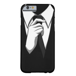 Black Tie Barely There iPhone 6 Case