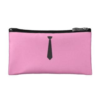 Black Tie Cosmetic Bags
