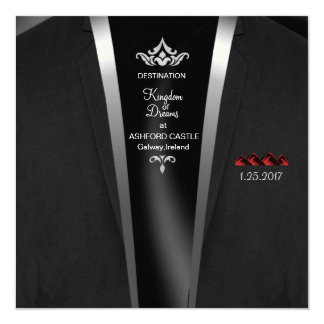 Black Tie Destination Invitation