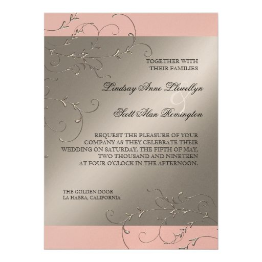 Black Tie Wedding Invitations is one of our best ideas you might choose for invitation design