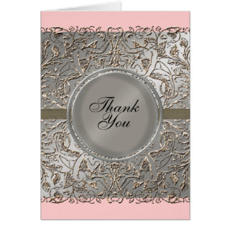 Black Tie Elegance, Thank You Notes Cards
