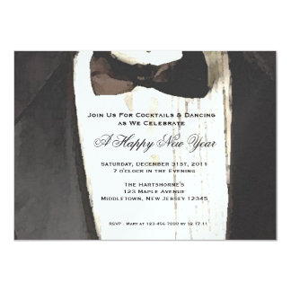 Black Tie Formal Occassion Invitation
