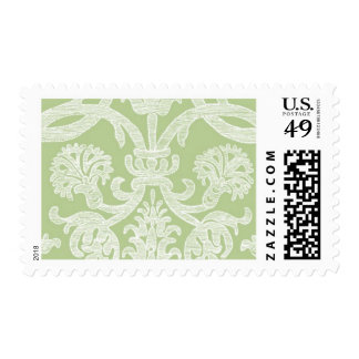 Black Tied A by Ceci New York Postage Stamp