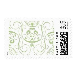 Black Tied B by Ceci New York Postage Stamp
