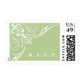 Black Tied C by Ceci New York Postage Stamp