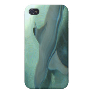 Black Tipped Shark iPhone 4 Case