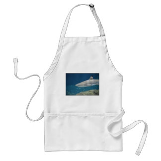 Black Tipped Shark Swimming Underwater Adult Apron