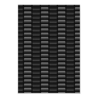 Black Tire Tread Pattern Card
