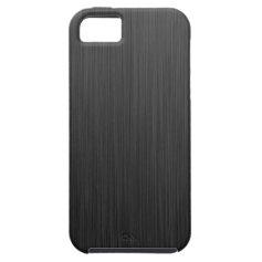 Black Titanium iPhone 5 Cover