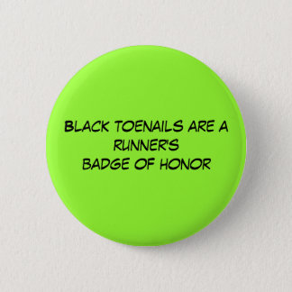 Black toenails are a runner's badge of honor button