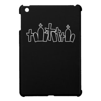 Black Tombs spooky figure iPad Mini Covers