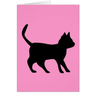Black tomcat card