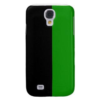 black top green bottom DIY custom background Galaxy S4 Case