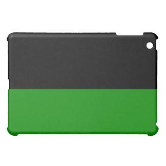 black top green bottom DIY custom background iPad Mini Covers