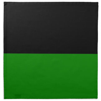 black top green bottom DIY custom background Napkin