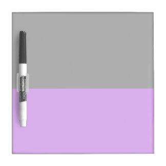 black top purple bottom DIY custom background Dry-Erase Board