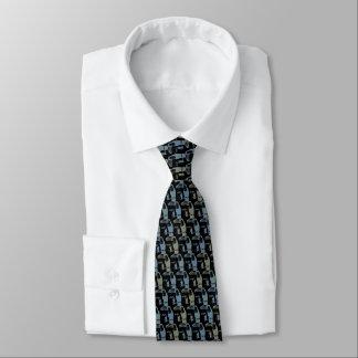Black Toucans Tie Armani Grey