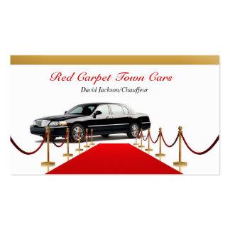 Black Town Car Business Card Business Card Template