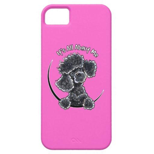 Black Toy Poodle IAAM iPhone 5 Case