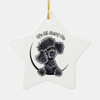 Black Toy Poodle IAAM Ornaments
