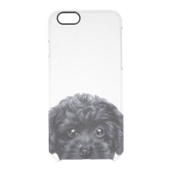 Uncommon iPhone 6 Clearly™ Deflector Case with Poodle Phone Cases design