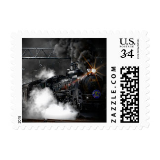 Black Train Postage