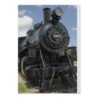 Black Train Poster