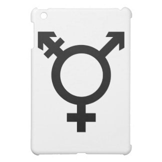 Black Transgender Symbol iPad Mini Cover