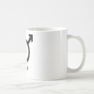 Black Transgender Symbol Mugs