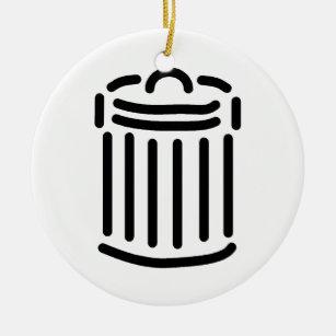 trash can symbol home décor furnishings pet supplies zazzle