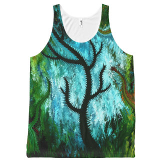 Black tree by rafi talby All-Over print tank top