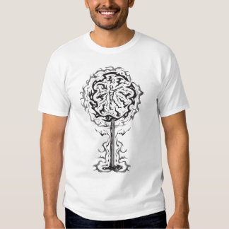 Black tree T T Shirt