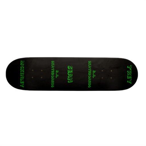 black,        Trey, Mckinley, Sean, B.A. skateb... Skate Board