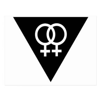 Black Triangle Post Card