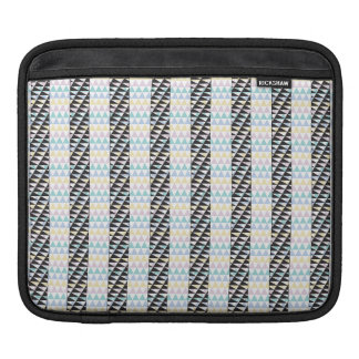Black triangles and color iPad sleeve