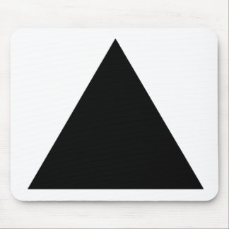 Black TriangleTrans The MUSEUM Zazzle Gifts Mouse Pad