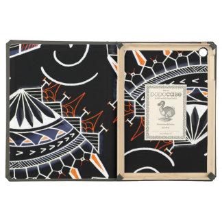 Black tribal art aboriginal australia style case for iPad air