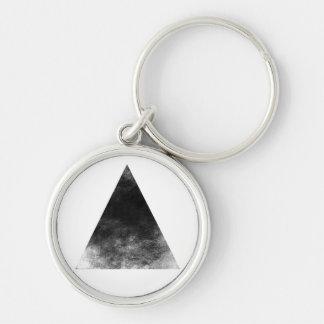 Black trifishes keychain