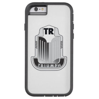 Black Triumph Logo Tough Xtreme iPhone 6 Case