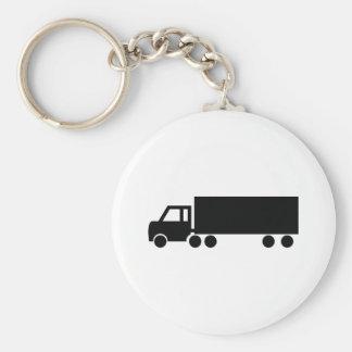 black truck icons keychain